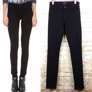 AGOLDE Jeans Colette Skinny Leg Stretch Jean Black
